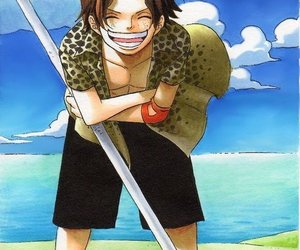 one piece and ace image