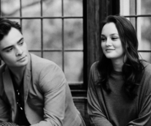 black and white, blair, and chuck image
