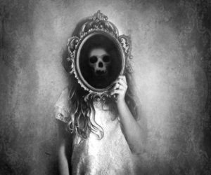 death, look, and mirror image