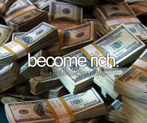 girl, rich, and money image