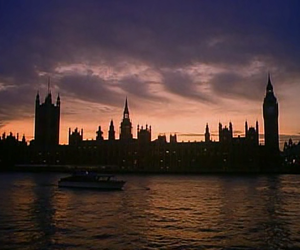 london and twilight image