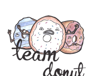 candy, donut, and doodle image
