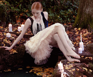 candle and fashion image