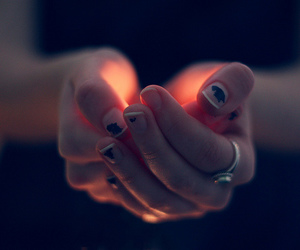 light, hands, and photography image