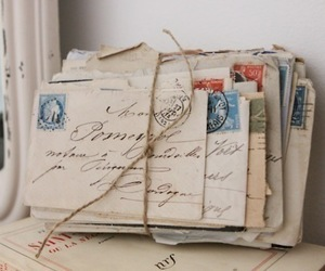 letters, vintage, and memories image