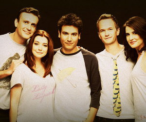 how i met your mother, Barney Stinson, and ted mosby image