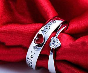 ring, heart, and lovely image