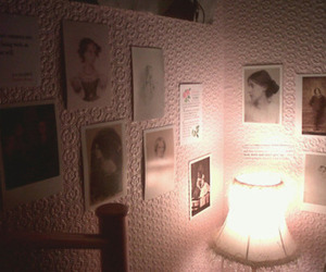 pink, room, and vintage image