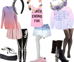 alternative, fashion, and outfits image