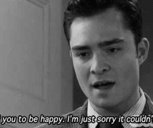 be, WITH, and chuck bass image