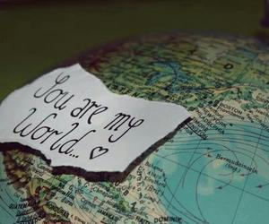 world and love image