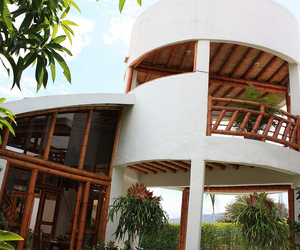 arquitectura tropical, house bamboo, and arquitectura vegetal image
