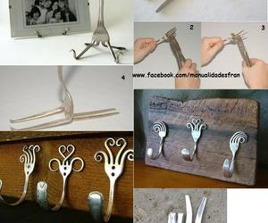 diy, Easy, and fork image