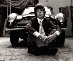 mick jagger and the rooling stones image