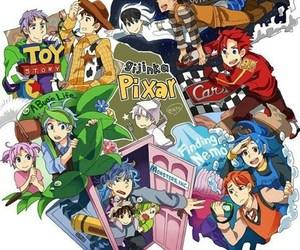 pixar, anime, and disney image