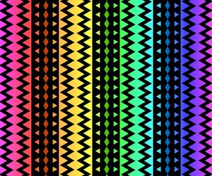 amazing, zigzag, and art image