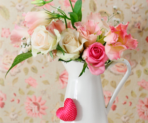 flowers, shabby chic, and vintage image