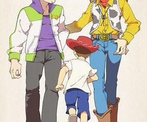 andy, toy story, and anime image