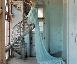 abandoned, beautiful, and blue image