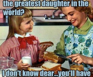 funny, daughter, and mom image