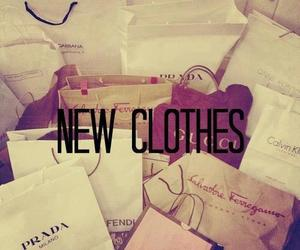 clothes, shopping, and new image