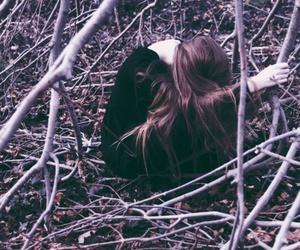 girl, long hair, and photography image