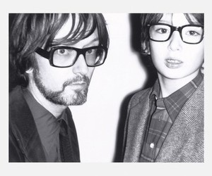 black and white and jarvis cocker image