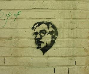 graffiti, iran, and stencil image