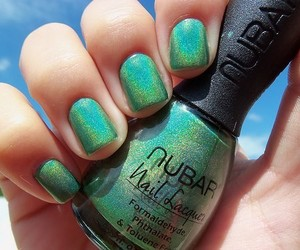 color, nails, and cool image