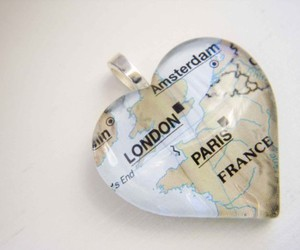 europe and heart image