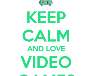keep calm, video games, and bmo image