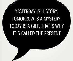 quote, gift, and history image