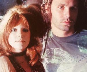 Jim Morrison and pamela courson image