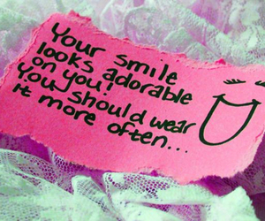 smile, quotes, and adorable image