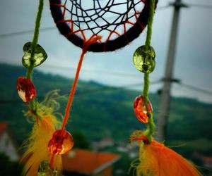 dreamcatcher green orange image