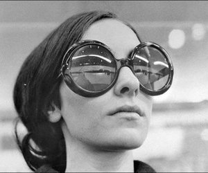 60s, black and white, and vintage image