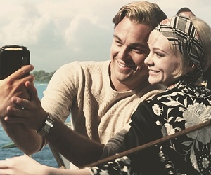the great gatsby, leonardo dicaprio, and Carey Mulligan image