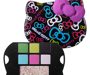 colors, sanrio, and eyeshadow palette image