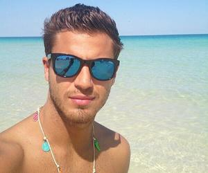 beach, glasses, and Hot image