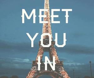 paris, love, and quote image