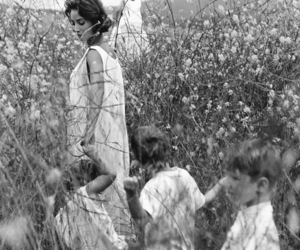 black and white, bruce weber, and children image
