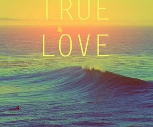 love, true love, and beach image