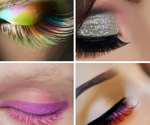 eye makeup, lips, and hairstyle image