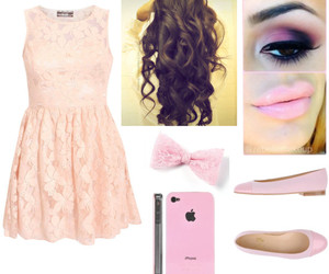 baby pink, clothes, and dress image