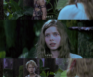 peter pan, love, and wendy image
