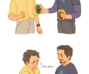 Avengers, iron man, and science bros image
