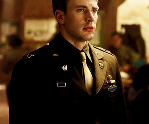 chris evans and steve rogers image