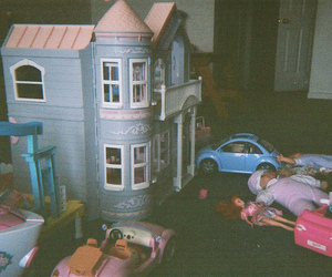 toys, barbie, and child image