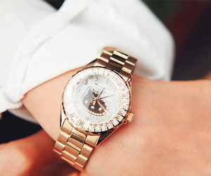 watch, hello kitty, and gold image