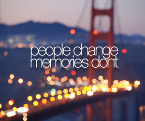 quote, memories, and change image